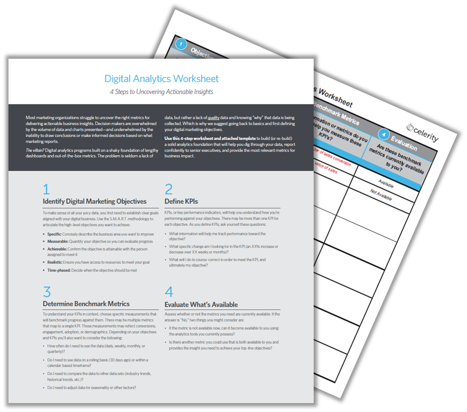 Digital Analytics Worksheet